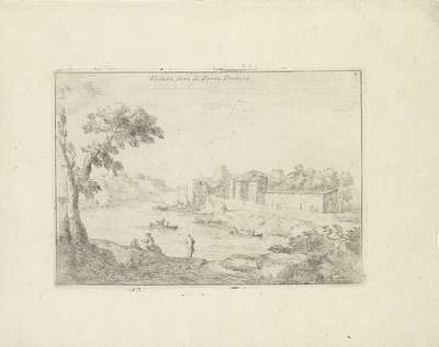 Landschap met de Porta Portese; Veduta fori di Porta Portese; Varie Vedute
