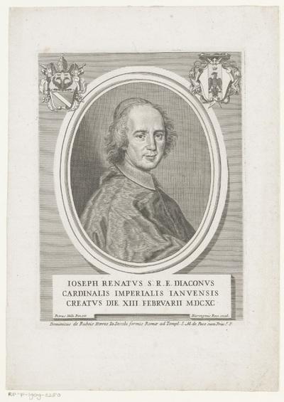 Portret van kardinaal Giuseppe Renato Imperiali