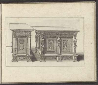 Twee kasten; Verscheidene Schreinwercke / Plusieurs Menuiseries