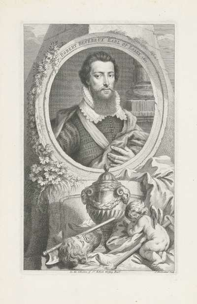 Portret van Robert Devereux