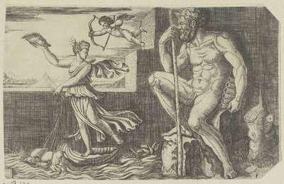 Galatea ontsnapt aan Polyphemus