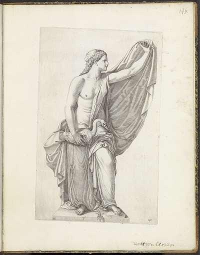 Standbeeld van Leda en de zwaan; Galleria Giustiniana del Marchese Vincenzo Giustiniani I