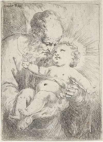 Jozef met het Christuskind in zijn armen