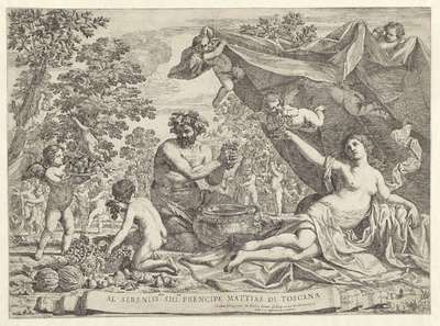 De wijnoogst