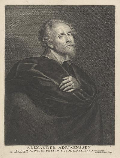 Portret van Alexander Adriaenssen