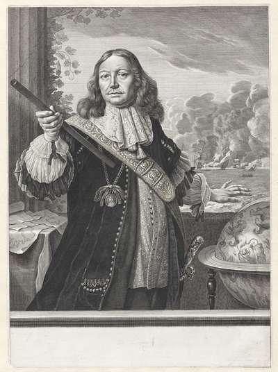 Portret van Johan de Liefde