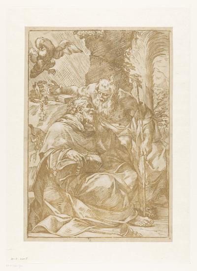 Antonius Abt en Paulus de Kluizenaar