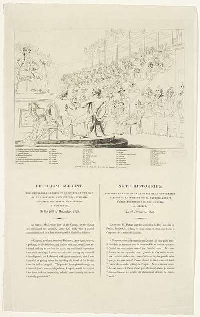 Sleutel op de prent: Toespraak van Lodewijk XVI