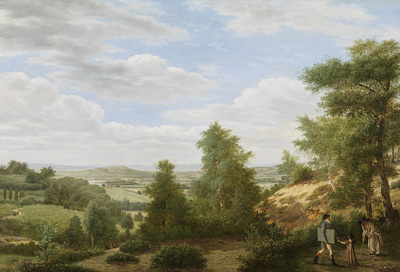Image from object titled View of the Valley of Montmorency near Saint-Leu-la-Forêt