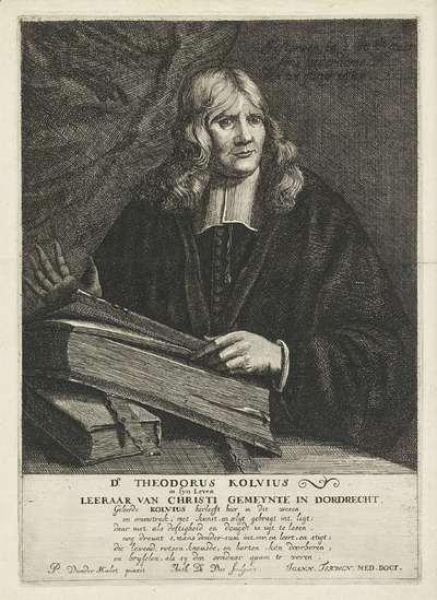 Portret van Theodor Kolvius