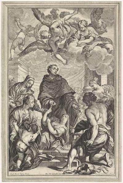 Opwekking door H. Johannes van Sahagún