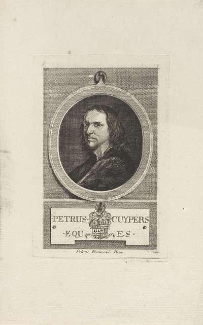 Portret van Petrus Cuypers; Petrus Cuypers eques