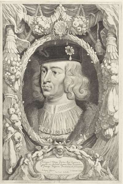 Portret van Filips de Schone, hertog van Bourgondië; Duces Burgundiae