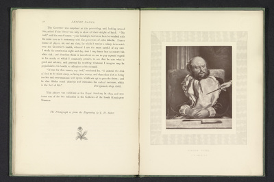 Fotoreproductie van een prent naar een schilderij van Sancho Panza door Charles Robert Leslie; Sancho Panza