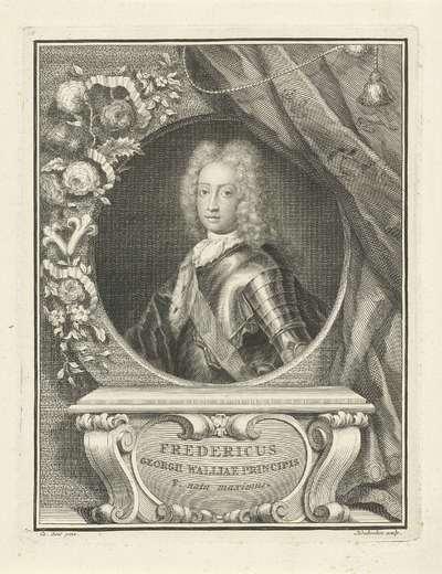 Portret van Frederik, prins van Wales; Fredericus Georgii Walliae principis