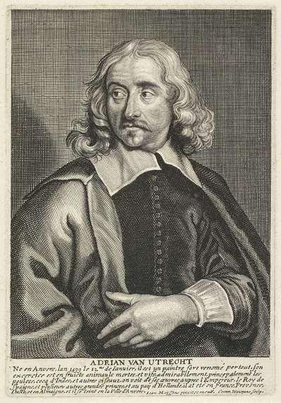 Portret van de schilder Adriaen van Utrecht
