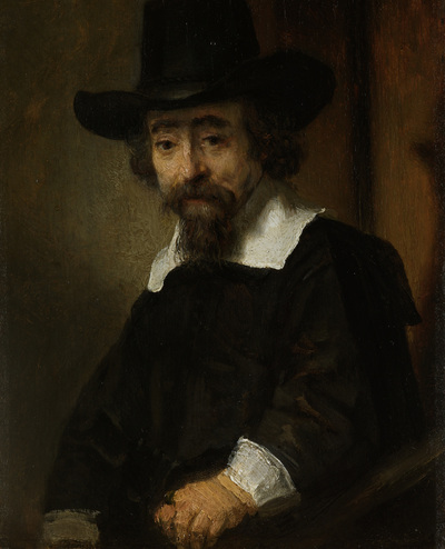 Image from object titled Portrait of a Man, thought to be Dr. Ephraïm Bueno