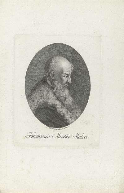 Portret van humanist en dichter Francesco Maria Molza