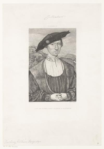 Portret van Joost van Bronckhorst-Bleiswijk; Joost van Bornck Harst, Seigneur de Bleyswyck