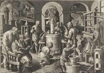 Distillatie; Nieuwe uitvindingen en ontdekkingen; Nova Reperta