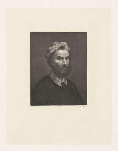 Portret van de schilder Domenico Beccafumi