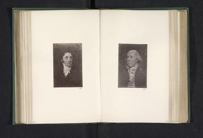 Fotoreproductie van een schilderij, voorstellende een portret van Thomas Campbell