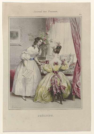 Journal des Femmes, 1832, No. 1: Prélude