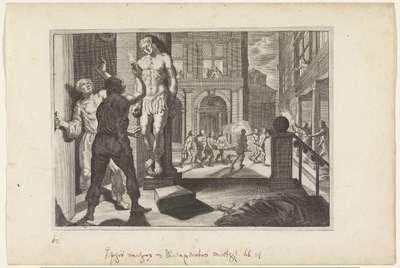 Dood van Iphis; Metamorfosen van Ovidius