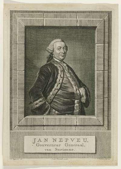 Jan Nepveu, Gouverneur Generaal, van Suriname