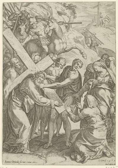 Kruisdraging met Veronica