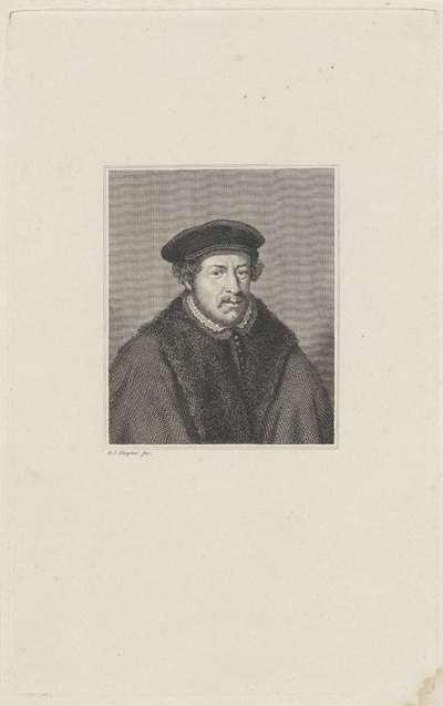 Portret van Adriaan Pauw  (1516-1578)