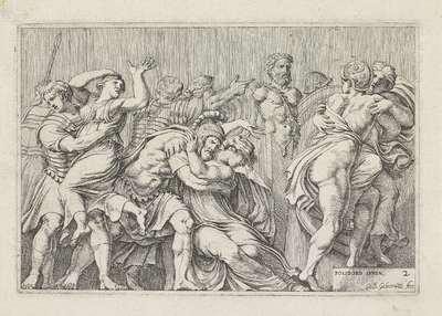 Sabijnse maagdenroof; Scènes uit de Romeinse geschiedenis