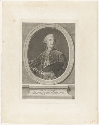 Portret van Louis Tocqué
