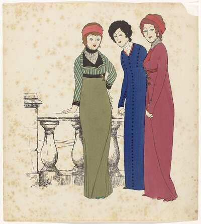 Les Robes de Paul Poiret Racontée par Paul Iribe (The Gowns of Paul Poiret by Paul Iribe)