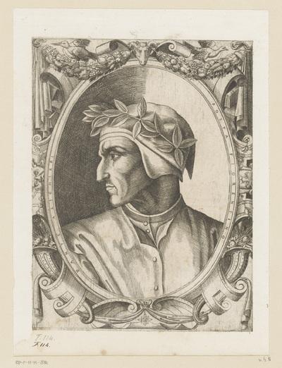 Portret van dichter Dante Alighieri