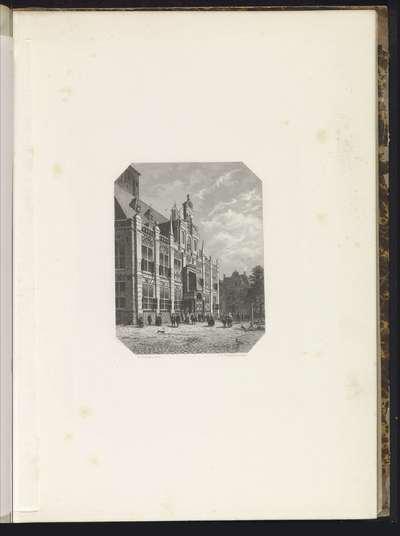 Stadhuis van Delft, 1620; Het stadhuis te Delft, 1620