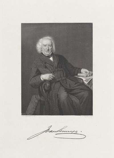 Portret van Jacob van Lennep