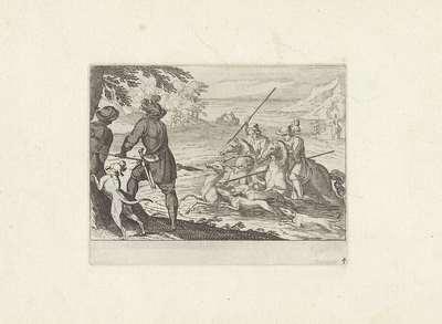 Hertenjacht; Jachttaferelen; Iachtboeck