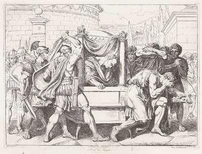 De moord op Cicero; Morte di Cicerone; Geschiedenis van het Romeinse Rijk; Frontespizio della Istoria Romana