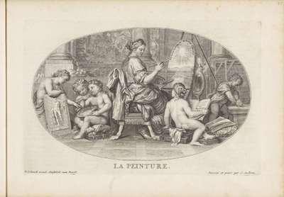 Schilderkunst; La Peinture; Le Cabinet des Beaux Arts (...) / De Schatkamer der Vrye Konsten (...)