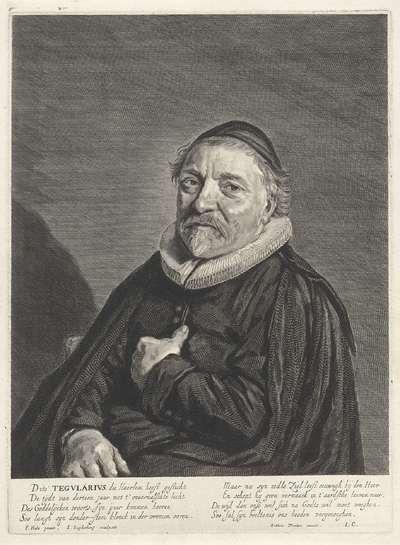 Portret van Adriaen Tegularius
