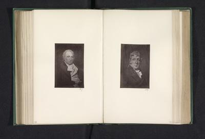 Fotoreproductie van een schilderij, voorstellende een portret van John Pattison