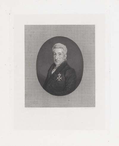 Portret van de predikant Wilhelm Broes