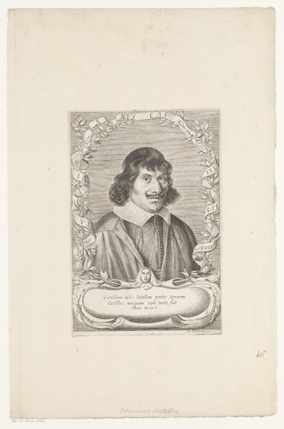 Portret van Ottaviano Castelli