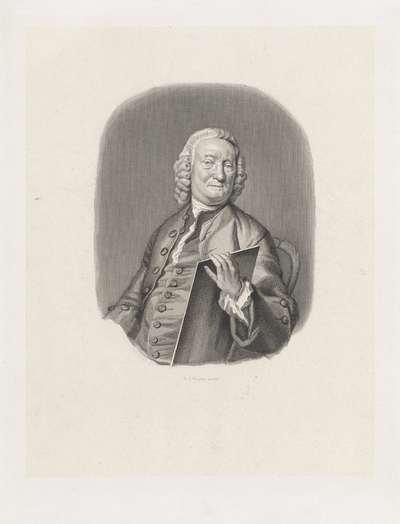 Portret van Jacob Houbraken
