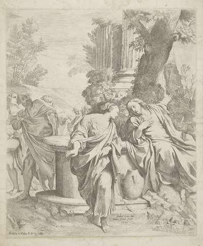 Christus en de Samaritaanse vrouw bij de put