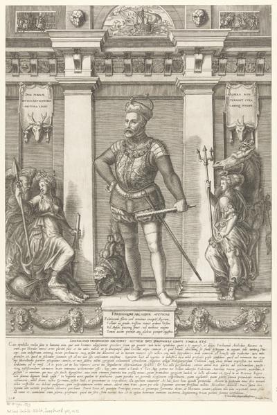 Portret van Ferdinand II van Tirol; Portretten van leden van het Oostenrijkse Huis; Austriacae gentis imaginum