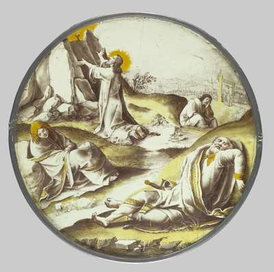 Jezus in de Tuin van olijven