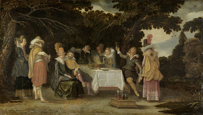 Image from object titled An open-air Party