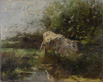 Image from object titled Meadow with Cows